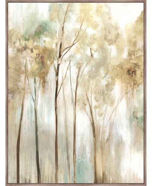 Artissimo Designs Sapling Framed Hand Embellished Canvas
