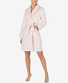 Lauren Ralph Lauren Textured Short Wrap Robe