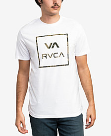 RVCA Men's Dark Camo Logo T-Shirt