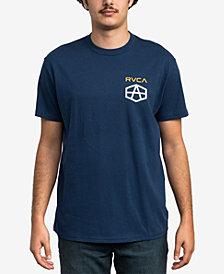 RVCA Men's Reynolds Hex Box Graphic T-Shirt