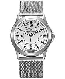 Men's'Norse' Quartz Stainless Steel Mesh Bracelet Watch