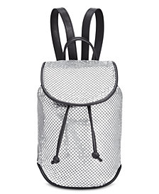 Steve Madden April Metal Mesh Backpack