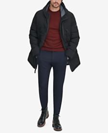 Marc New York Men's Crinkle Down Hooded Parka, Created for Macy's