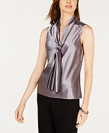 Nine West Tie-Neck Sleeveless Camisole