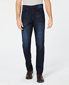 Kenneth Cole Straight-Leg Medium Indigo Jeans