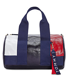 Tommy Hilfiger Seneca High-Shine Duffle