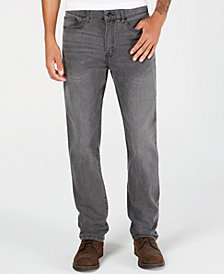 Kenneth Cole Slim-Fit Grey Wash Jeans
