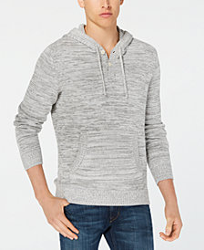 American Rag Men's Placket Hoodie, Created for Macy's