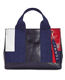 Tommy Hilfiger Seneca High-Shine Satchel
