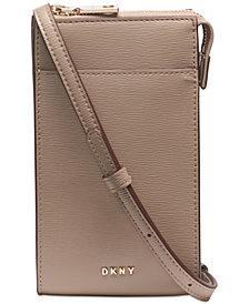 DKNY Bryant Sutton Leather Phone Crossbody, Created for Macy's