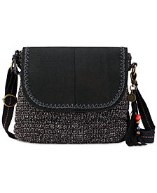 The Sak Brannan Crochet Flap Crossbody