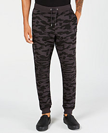 I.N.C. Men's Drawstring Camo Pants, Created for Macy's
