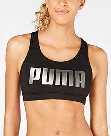 Puma 4Keeps Mid-Impact Racerback Sports Bra