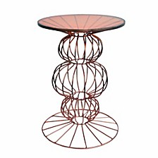 Dazzling Orianne Side Table With Spherical Base