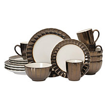 Mikasa Gourmet Basics Leyna 16 PC Dinnerware Set