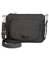 Vera Bradley Messenger Bags and Crossbody Bags - Macy s 6e146cf74b03b