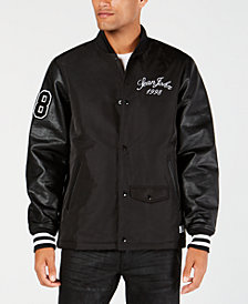 Sean John Men's Classic Fit Varsity Bomber Jacket