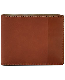 Fossil Men's Nev Leather Wallet