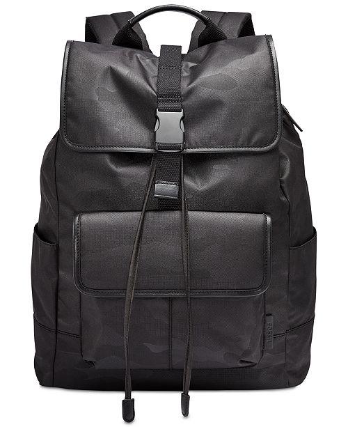 Fossil Men's Buckner Ruck Sack Backpack