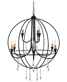 Ballard 9-Light Metal Chandelier