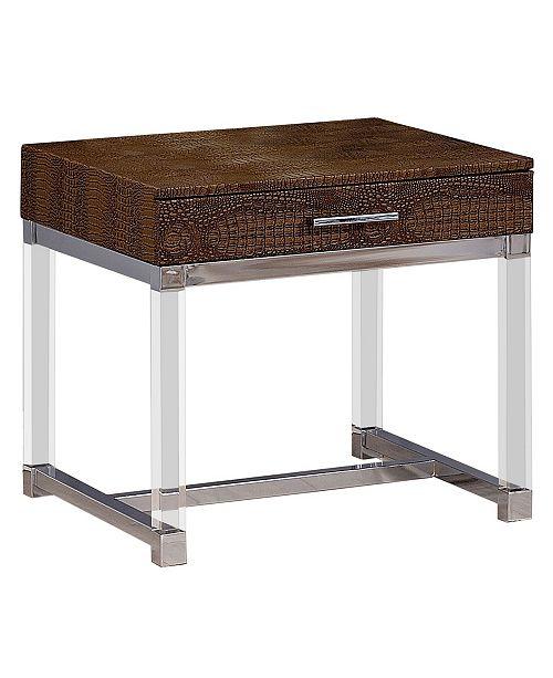 Furniture of America Romano End Table