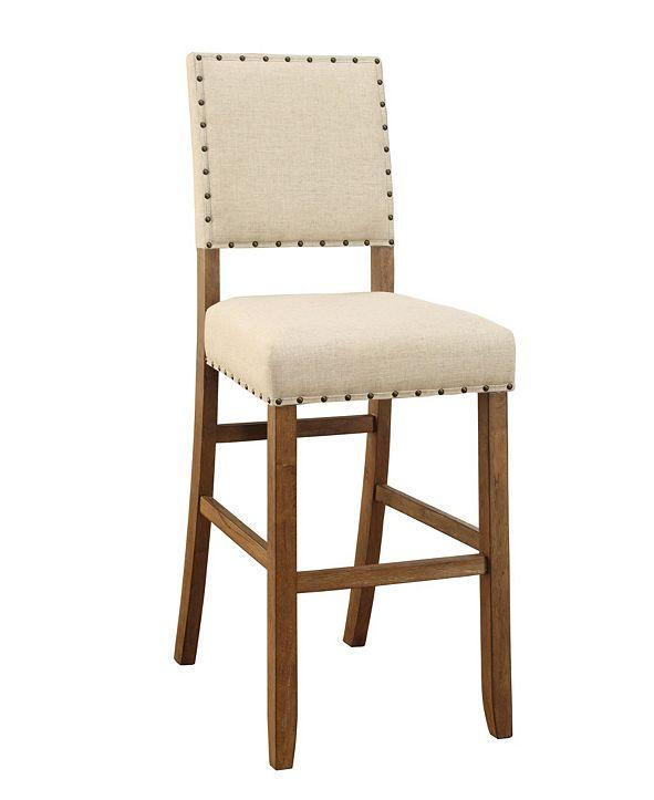 Furniture Langly Upholstered Bar Stool (Set of 2)