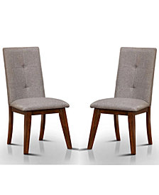 Laela Side Chair (Set Of 2), Quick Ship
