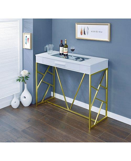 Furniture of America Jeremiah 1-Drawer Bar Table