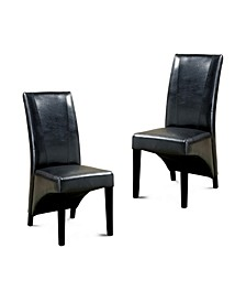 Vanzant Upholstered Dining Chair (Set of 2)