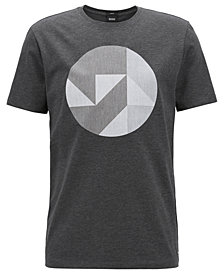BOSS Men's Slim-Fit Graphic Cotton T-Shirt