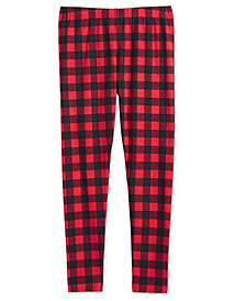 Epic Threads Big Girls Plaid Leggings, Created for Macy's