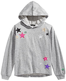 Epic Threads Big Girls Star Hoodie, Created for Macy's