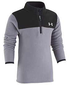 Under Armour Little Boys Colorblocked 1/4-Zip Fleece Shirt