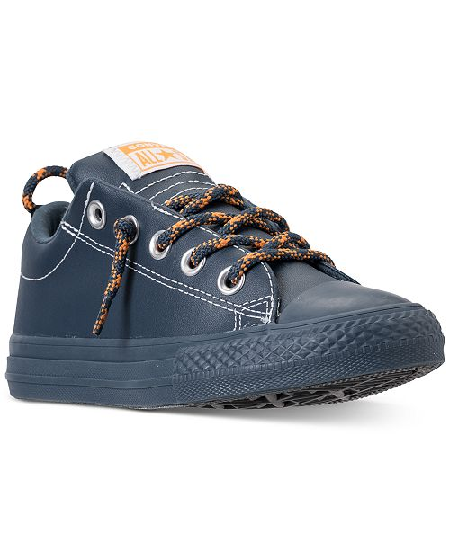a98d477ee826 ... Converse Little Boys  Chuck Taylor All Star Street Hiker Casual Sneakers  from Finish ...