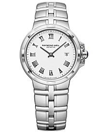 Women's Swiss Parsifal Stainless Steel Bracelet Watch 30mm