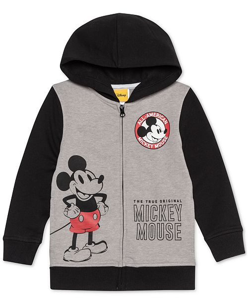 f223918d7ba90c Disney Toddler Boys 2-Pc. Mickey Mouse Full-Zip Hoodie   Jogger Pants ...