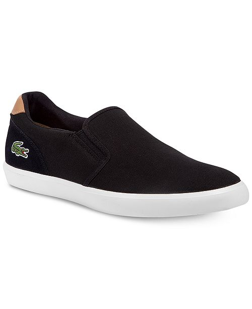 cd4ba1ee63 Lacoste Men's Jouer Slip-On 316 1 Sneakers & Reviews - All Men's ...