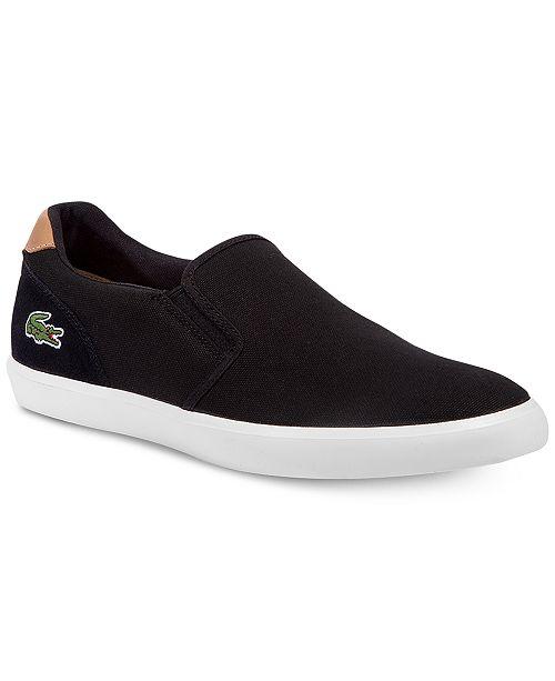 ba66b7a94 Lacoste Men s Jouer Slip-On 316 1 Sneakers   Reviews - All Men s ...