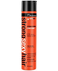 Sexy Hair Strong Sexy Hair Strengthening Conditioner, 10.1-oz., from PUREBEAUTY Salon & Spa