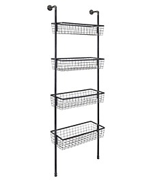 Truman 4-Basket Wall Shelf