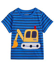 First Impressions Toddler Boys Cotton Digger T-Shirt, Created for Macy's