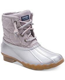 Sperry Little & Big Girls Saltwater Boots