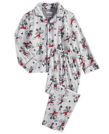 Mickey Mouse 2-Pc. Toddler, Little & Big Boys Pajama Set