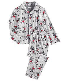 Mickey Mouse 2-Pc. Toddler, Little & Big Boys Pajama Set