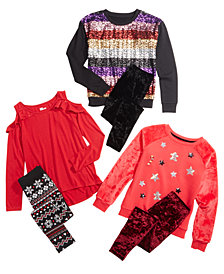 Epic Threads T-Shirts, Sweatshirts & Leggings Separates, Created for Macy's