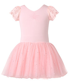 Flo Dancewear Toddler, Little & Big Girls Georgette-Sleeve Dance Dress