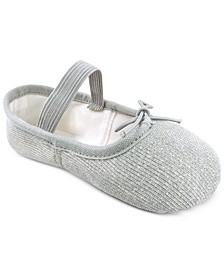 Toddler & Little Girls Sparkle Ballet Shoes