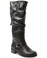 8db88c2569f6 XOXO Minkler Wide Calf Riding Boots