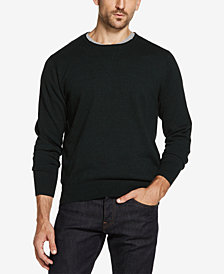 Weatherproof Vintage Cotton Merino Cashmere Crewneck Sweater