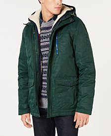 Tommy Hilfiger Men's Hilltop Hooded Coat with Detachable Fleece Vest, Created for Macy's